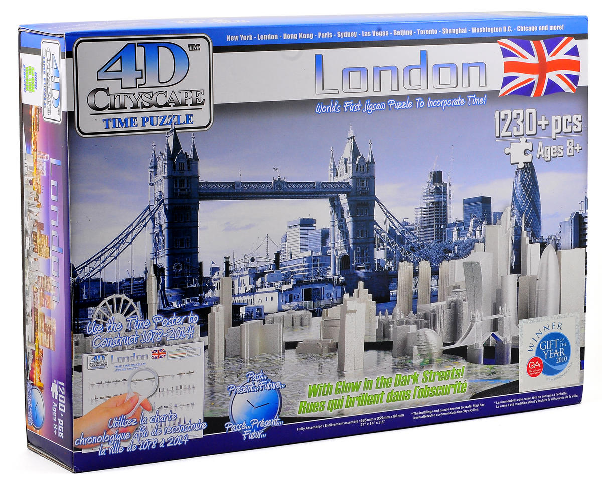 4D Cityscape national London 4D Cityscape Timeline Puzzle (1230+ Piece)