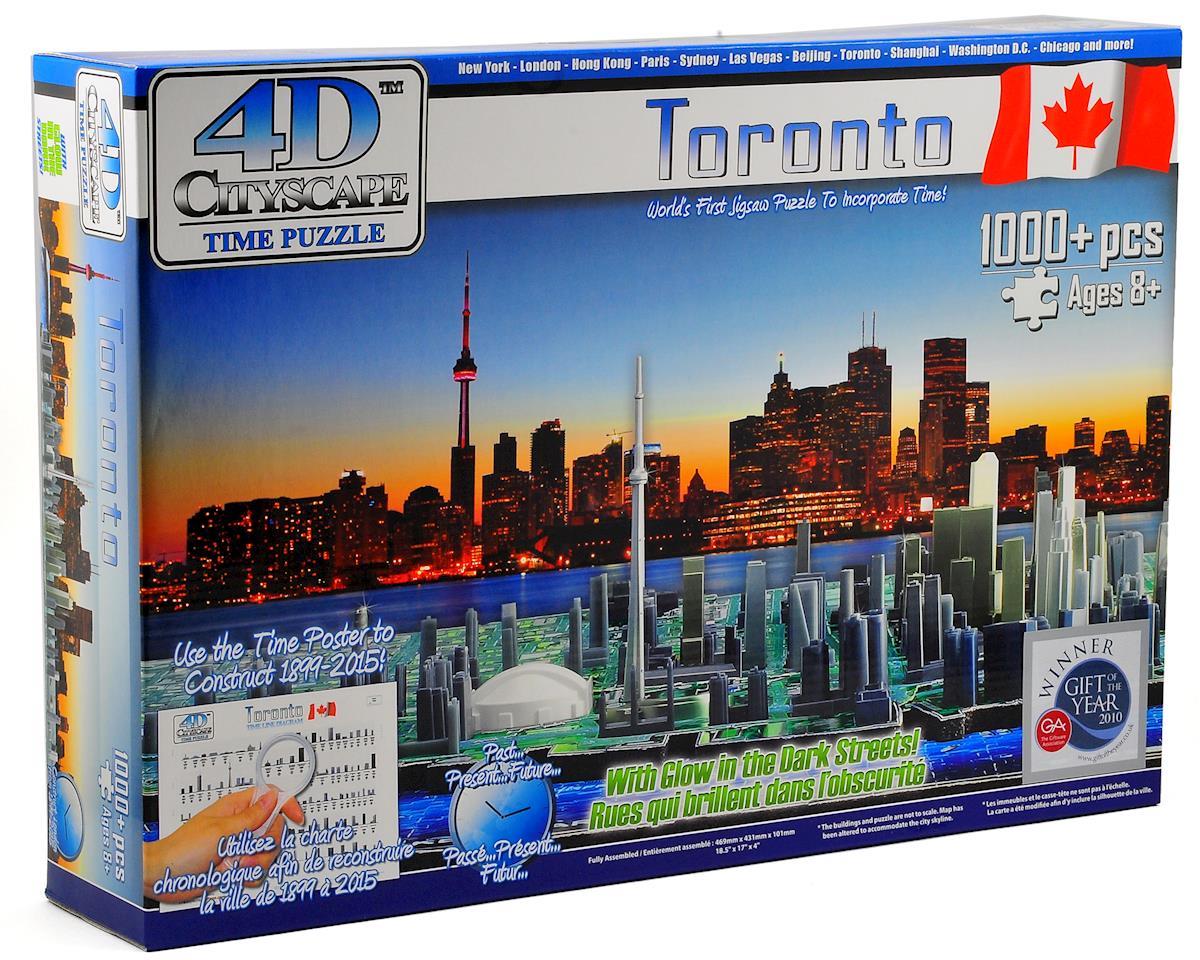 4D Cityscape national Toronto 4D Cityscape Timeline Puzzle (1000+ Piece)