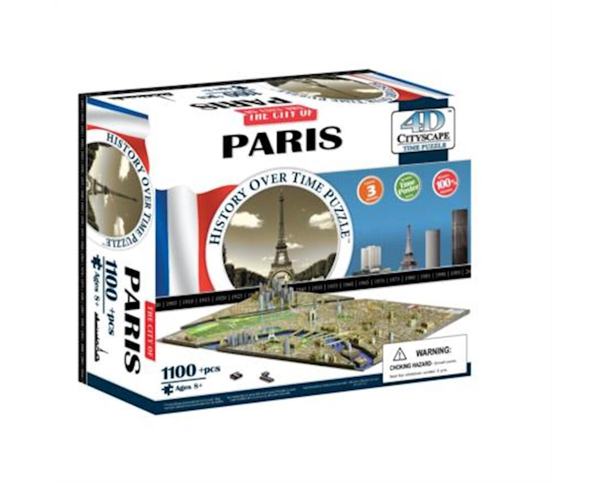Paris, France 4D Cityscape Timeline Puzzle (1100+p by 4D Cityscape