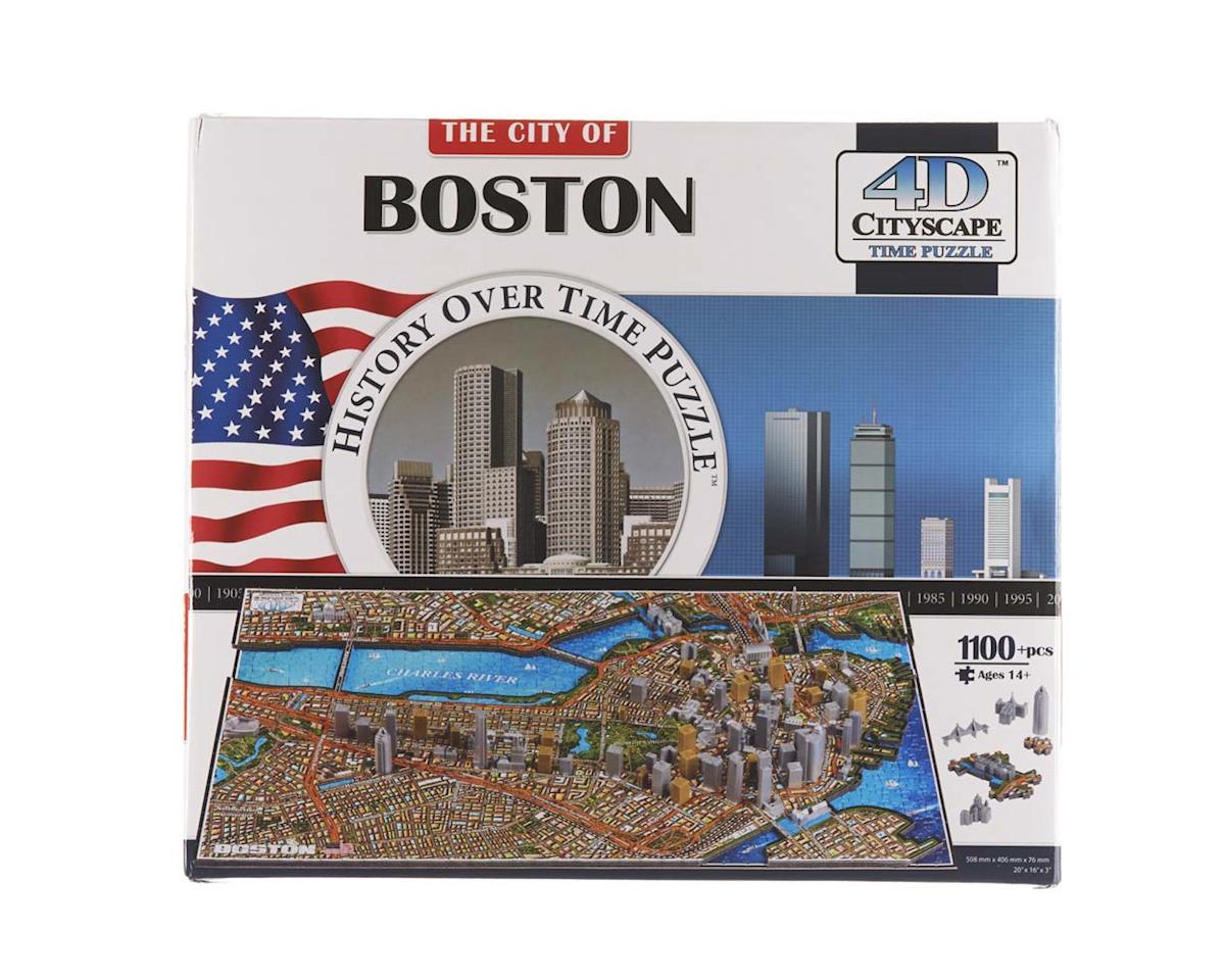 Boston USA 1100+pcs by 4D Cityscape