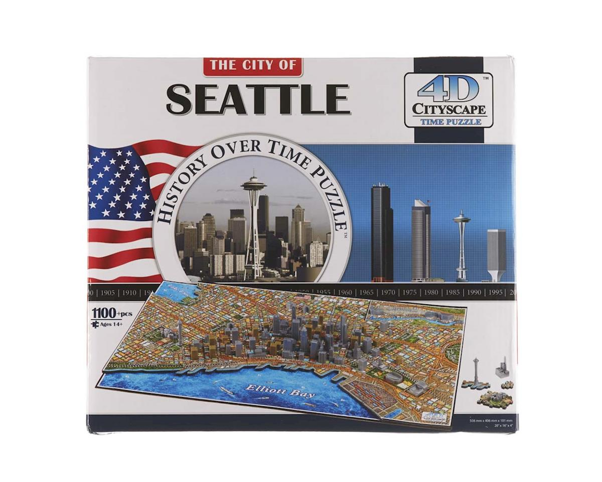 4D Cityscape Seattle 1100+pcs