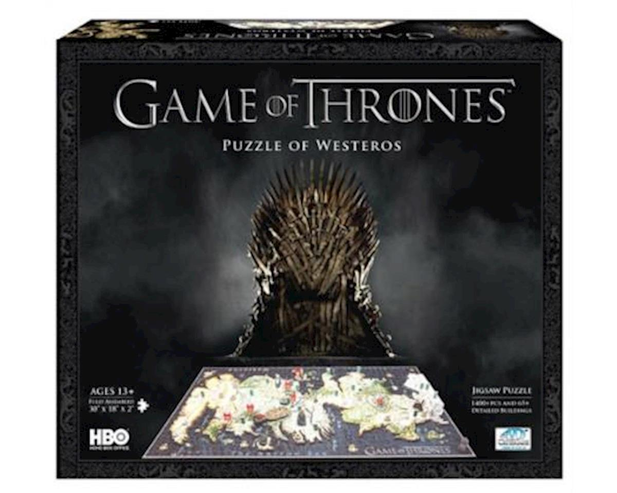 Game Of Thrones Puzzle Of Westeros (From Hbo Serie by 4D Cityscape