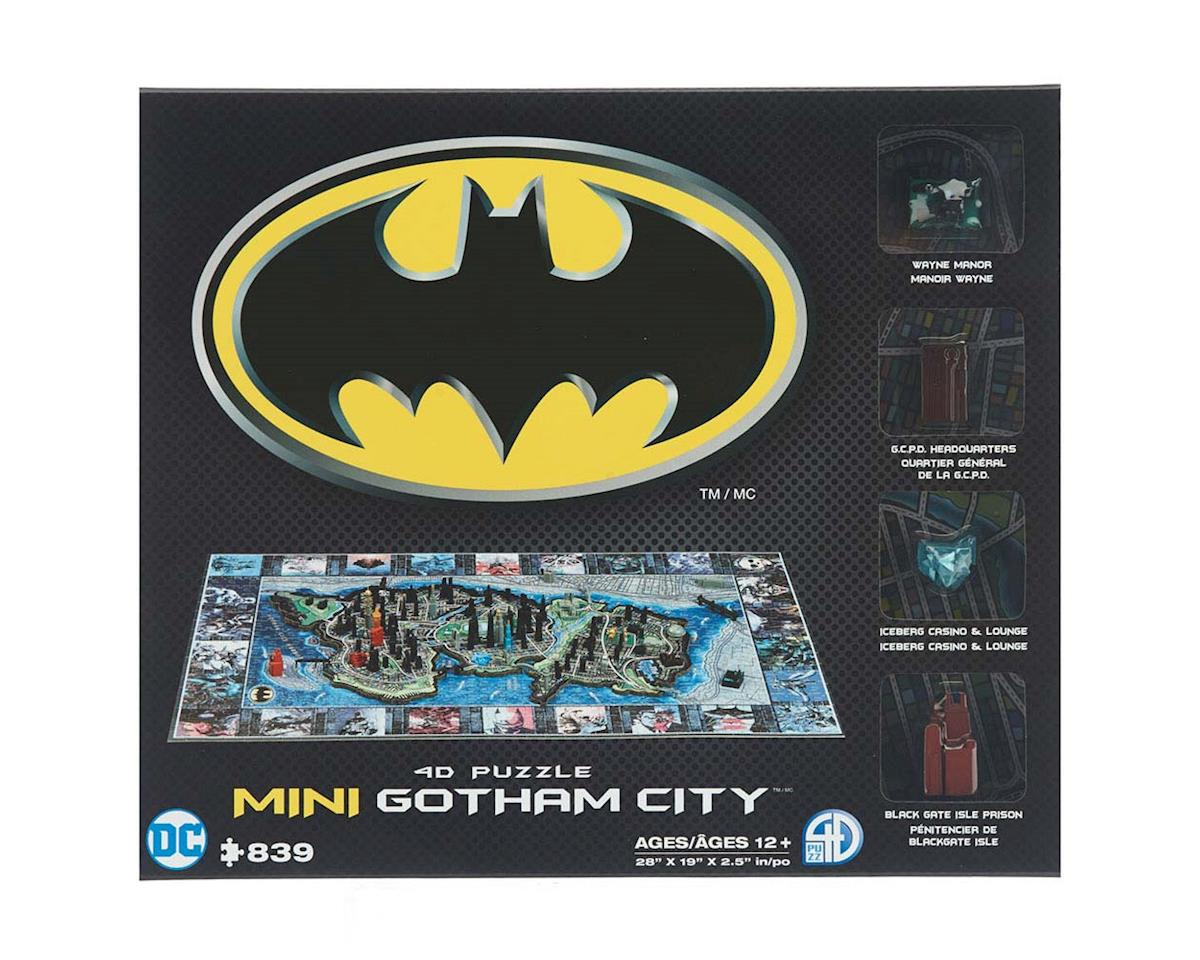 4D Mini Batman Gotham City