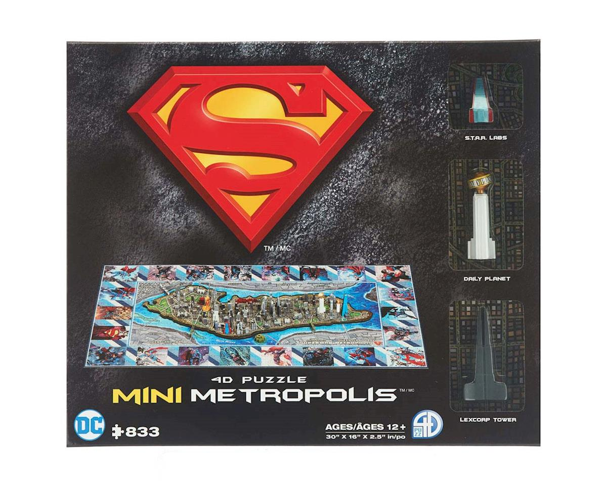52002 4D Mini Superman Metropolis