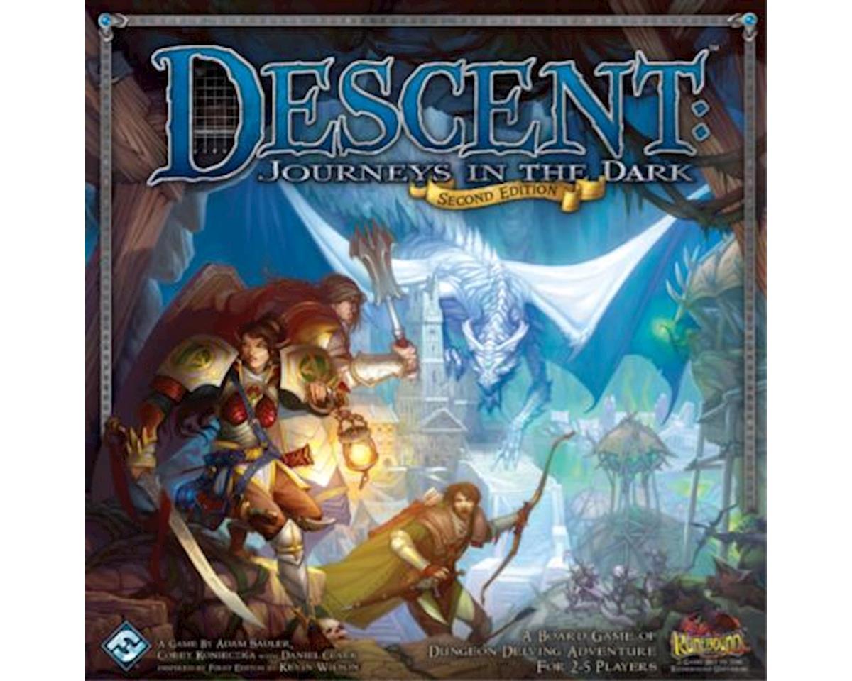 Fantasy Flight Games  Descent, Journeys Into The Dark, 2Nd Edition