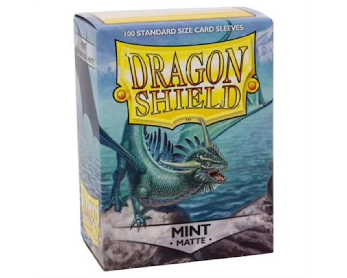 Dragon Shield Deck Protective Sleeves, Standard Size (100 Sleeves), Matte Mint