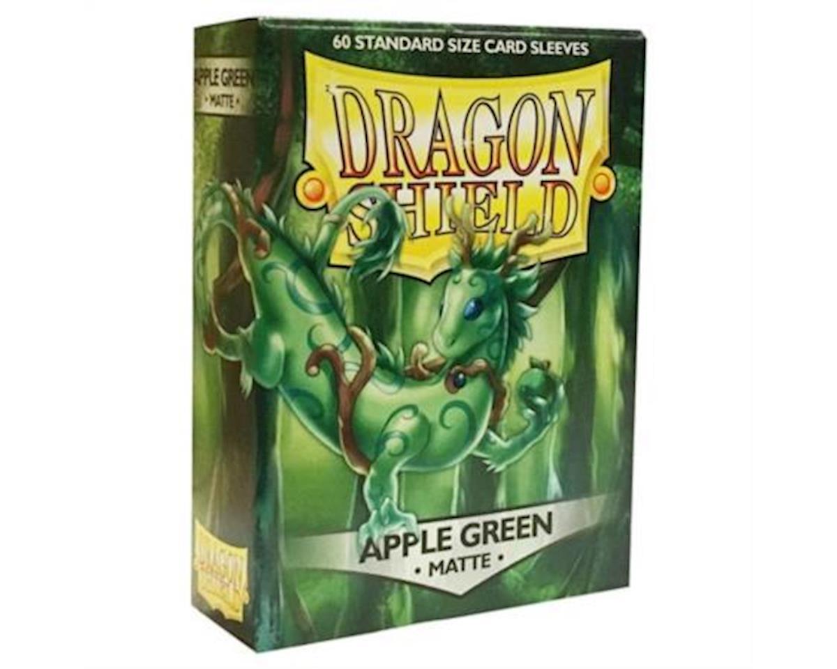 Dragon Shields: (60) Matte Apple Green