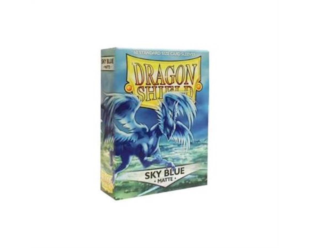 Dragon Shields: (60) Matte Sky Blue
