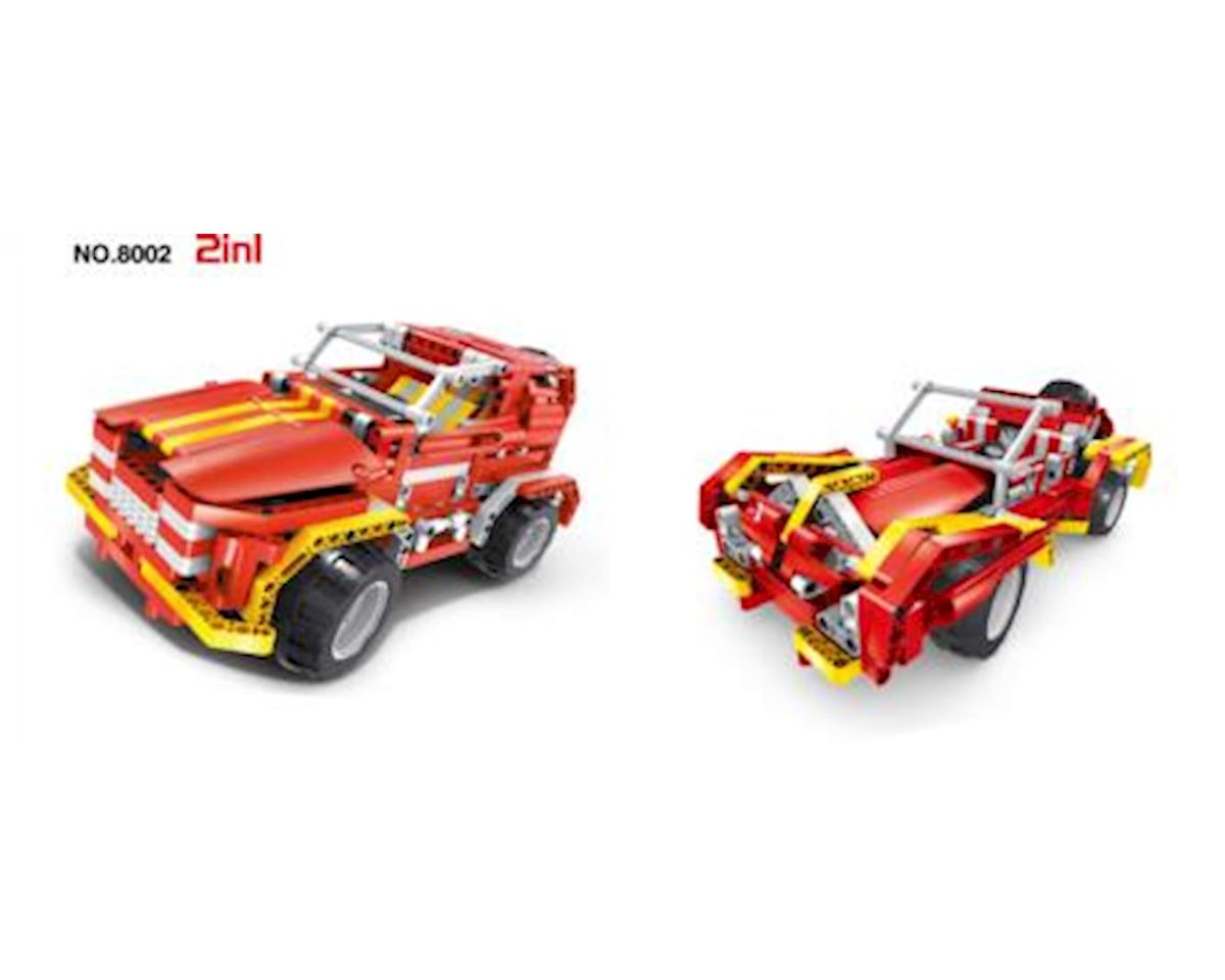 R/C Blocks Car 2 In 1 472Pcs by Firefox Toys