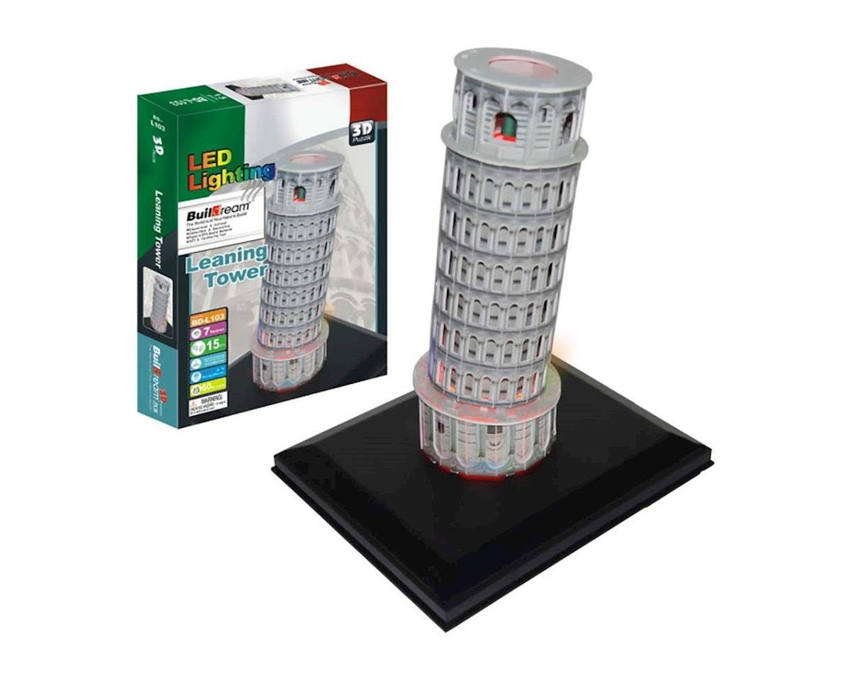 Firefox Toys Leaning Tower of Pisa with Light 15pcs