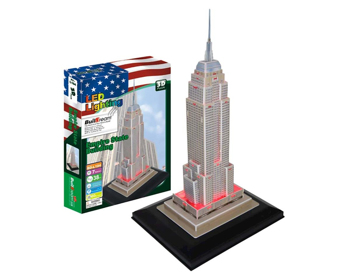Empire State Building with Light 38pcs by Firefox Toys