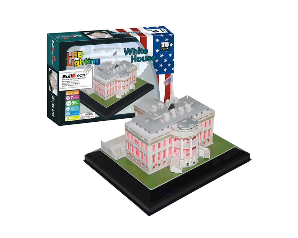BD-L105 White House with Light 56pcs