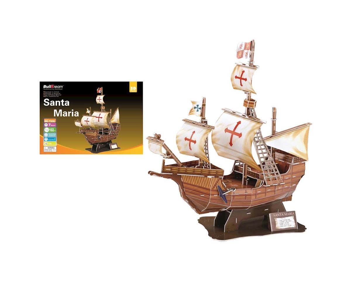 Firefox Toys BD-T006S Santa Maria Ship 109pcs