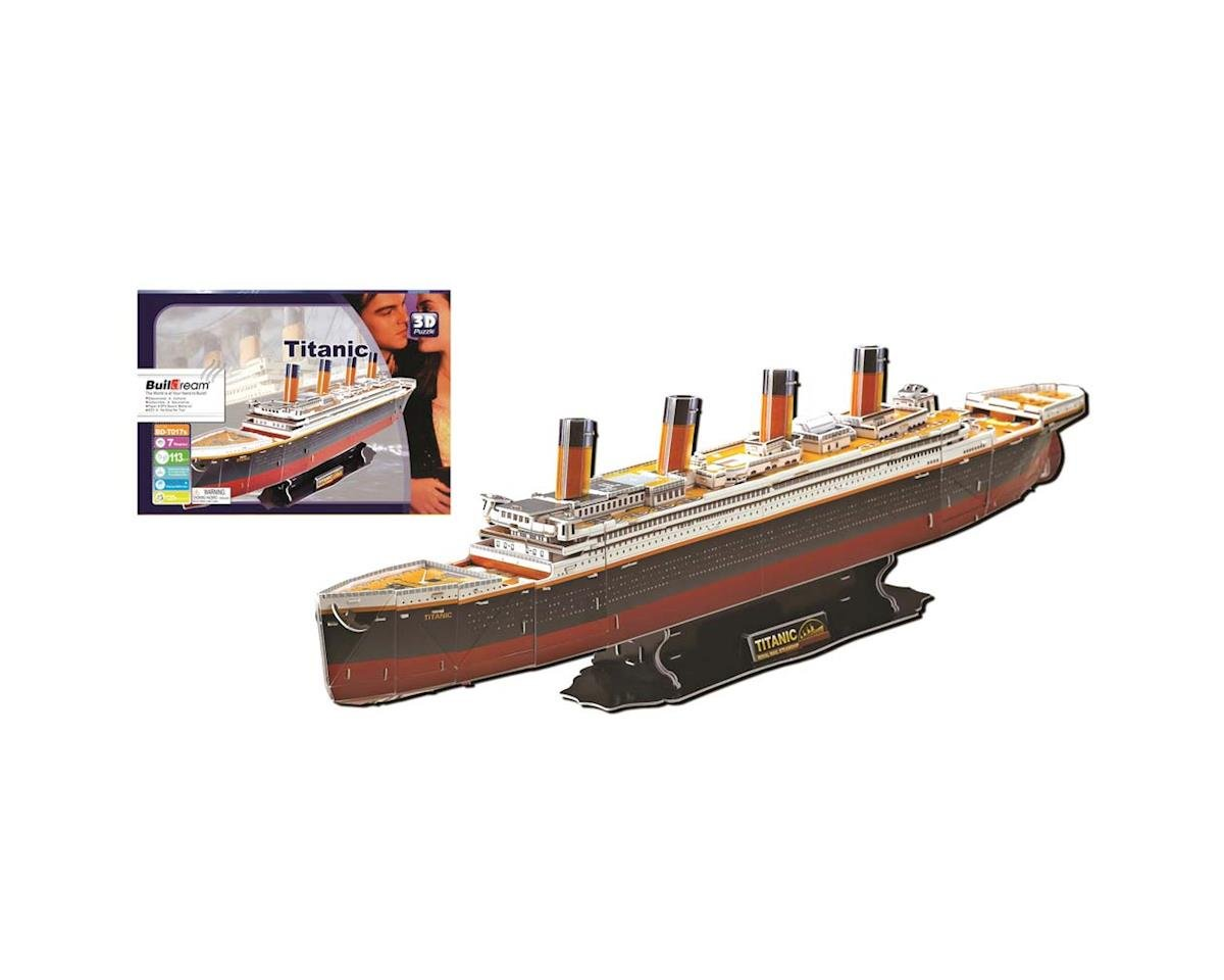Firefox Toys BD-T017 Titanic 124pcs