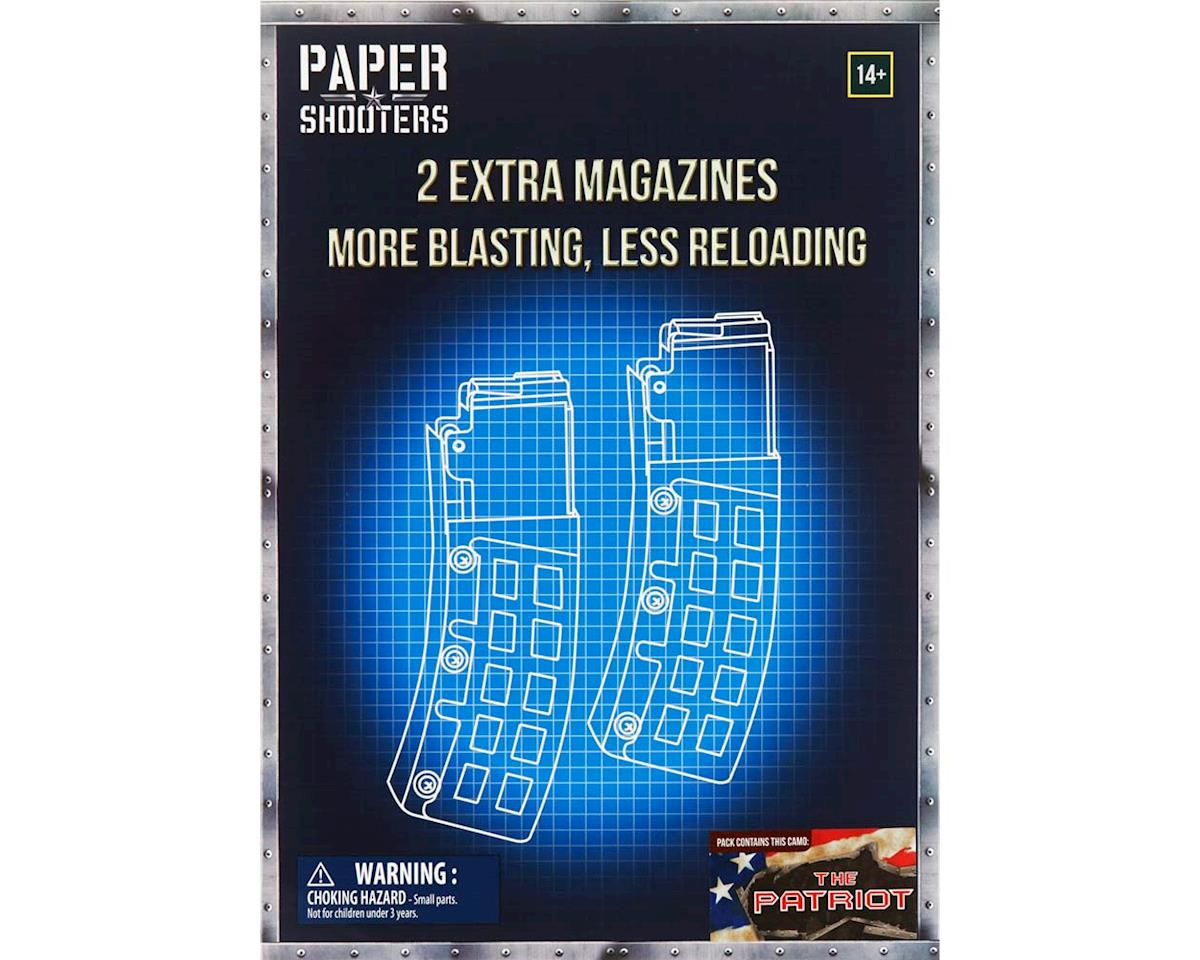 FFXTPT002 Paper Shooters Patriot Magazine 2-Pack by Firefox Toys
