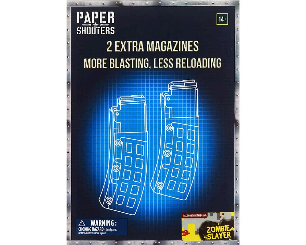FFXTZS002 Paper Shooters Zombie Slayer Magazine 2-Pack