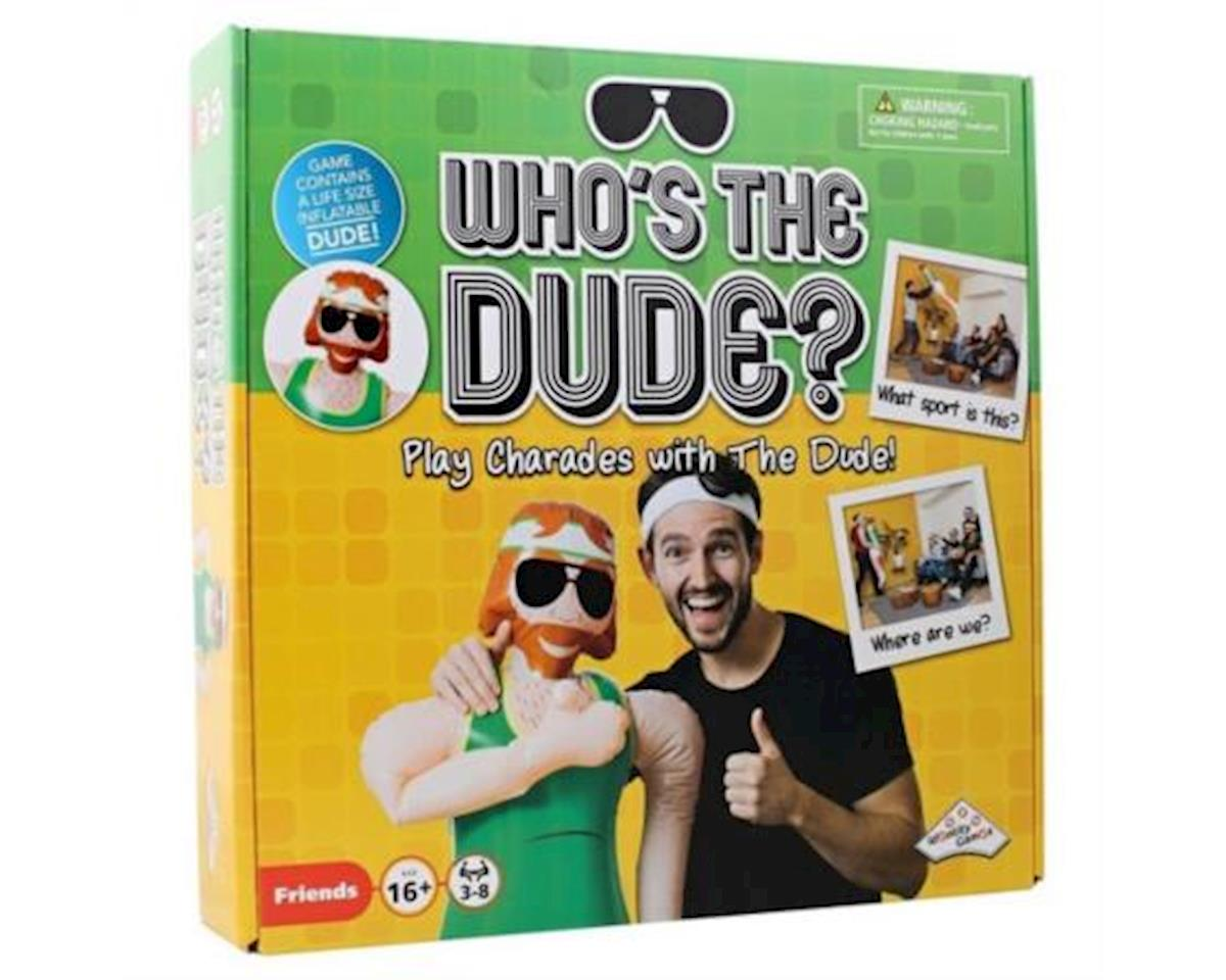 Who's The Dude? Party Charades Game