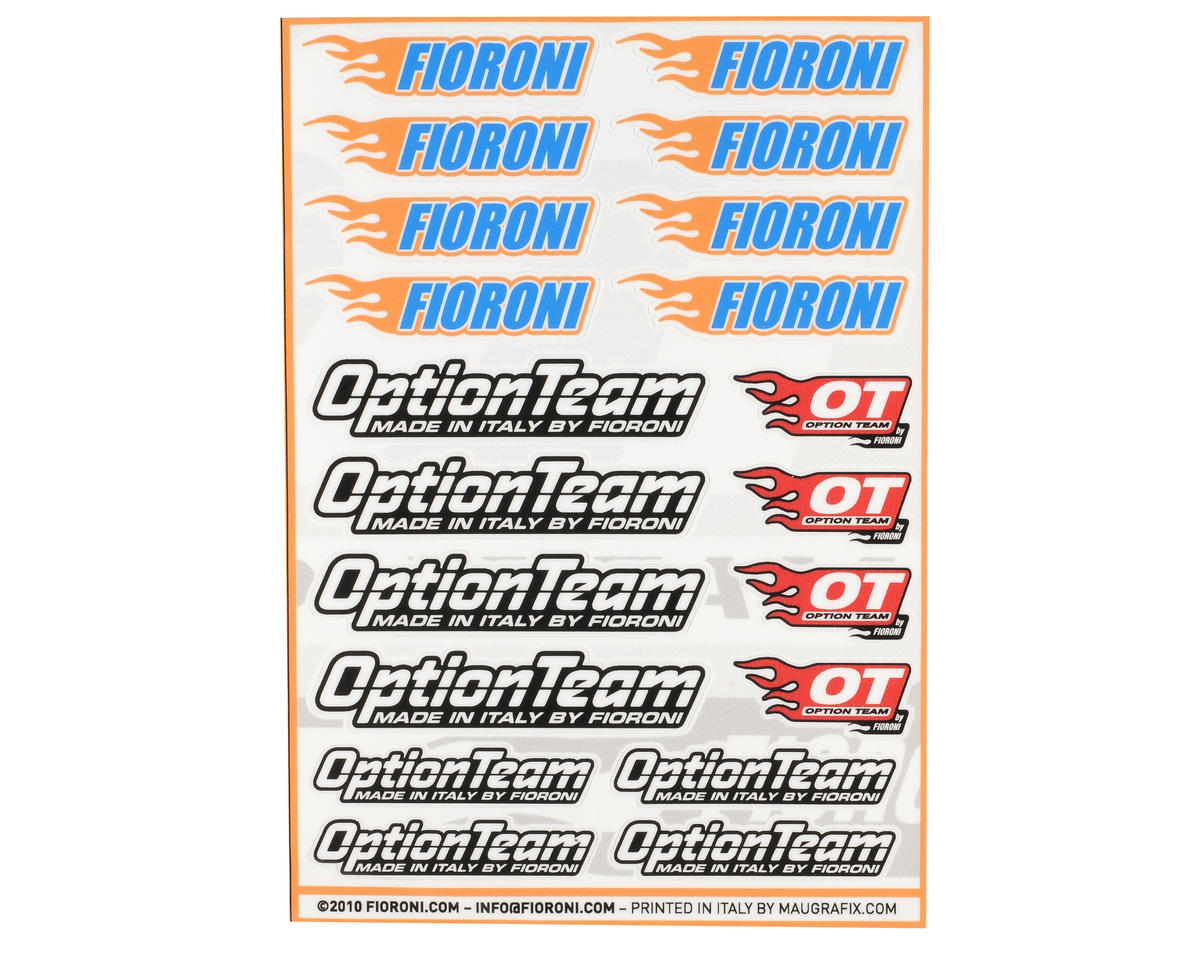 Fioroni Option Team Decal Set