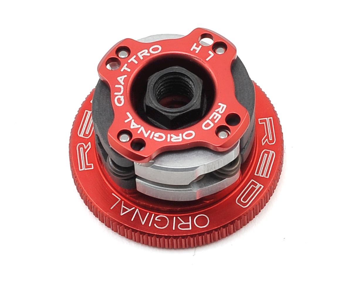 "32mm Quattro ""Original RED"" 4-Shoe Adjustable Clutch System by Fioroni"