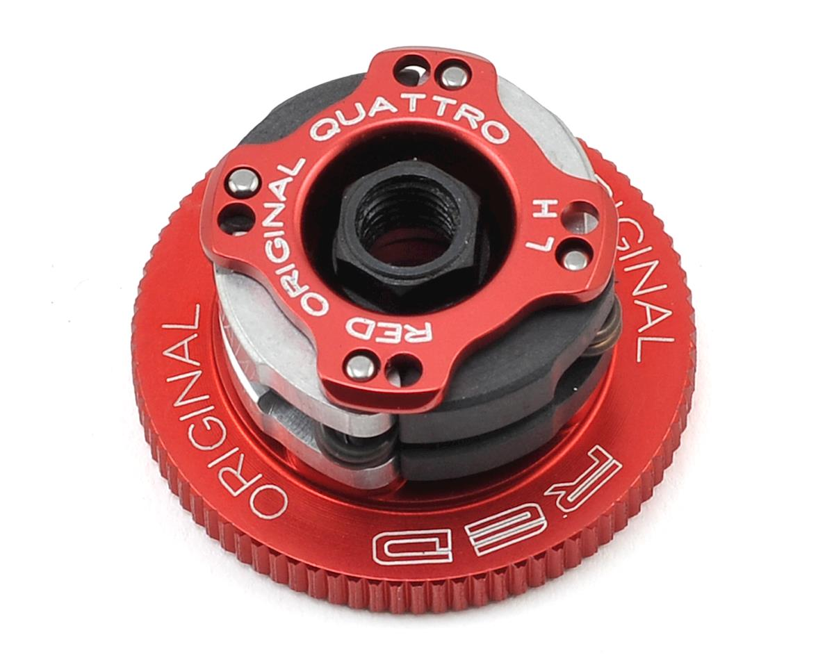 "34mm Quattro ""Original RED"" 4-Shoe Adjustable Clutch System by Fioroni"