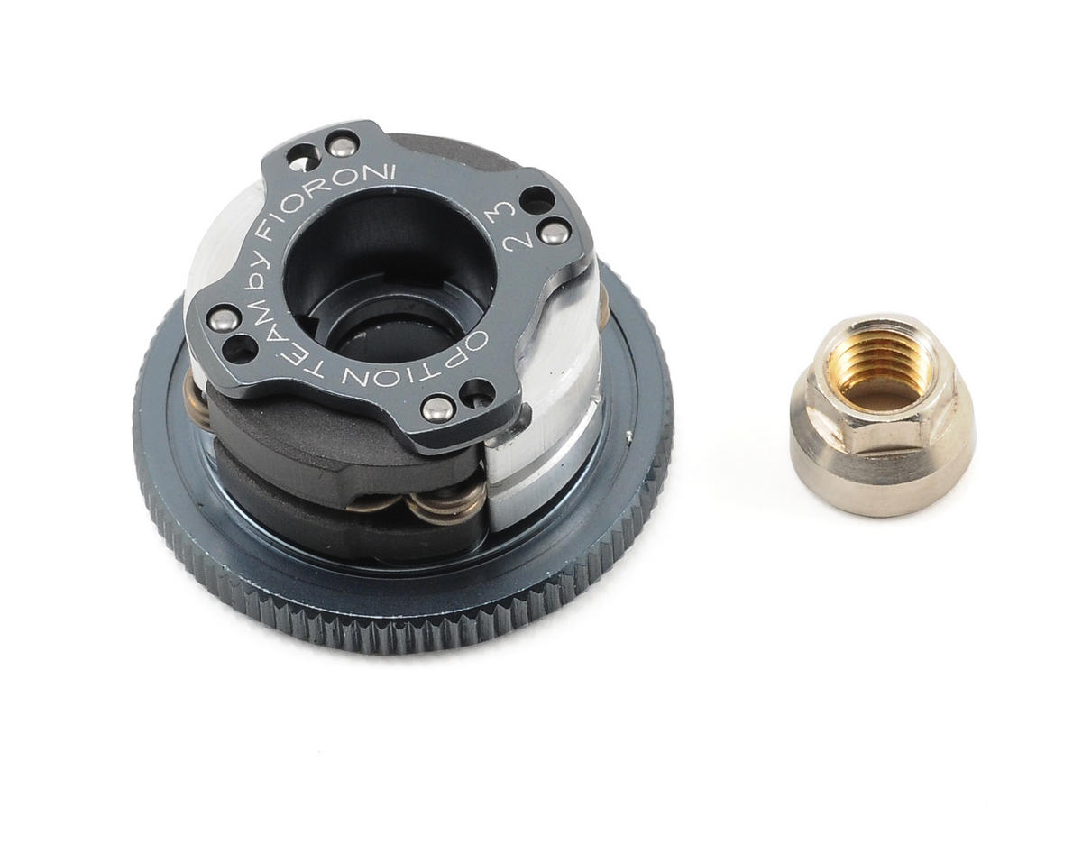 Quattro 4-Shoe Adjustable Clutch System (2 Ergal/2 Carbon)