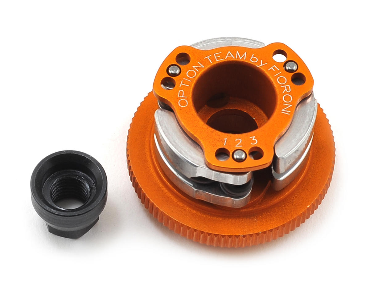 "32mm ""Vario"" Dust Protection Clutch, Flywheel & Nut by Fioroni"