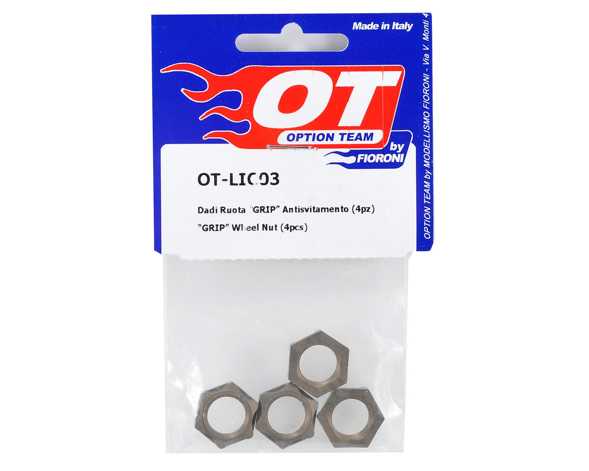 "Fioroni ""Grip"" Wheel Nut (4)"
