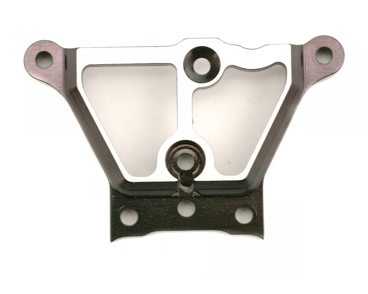 Team Losi 8ight/8ight-T Ergal Steering Upper Plate (Black)