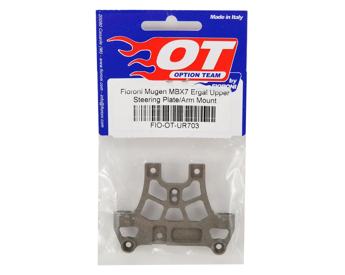 Fioroni Mugen MBX7 Ergal Upper Steering Plate/Arm Mount