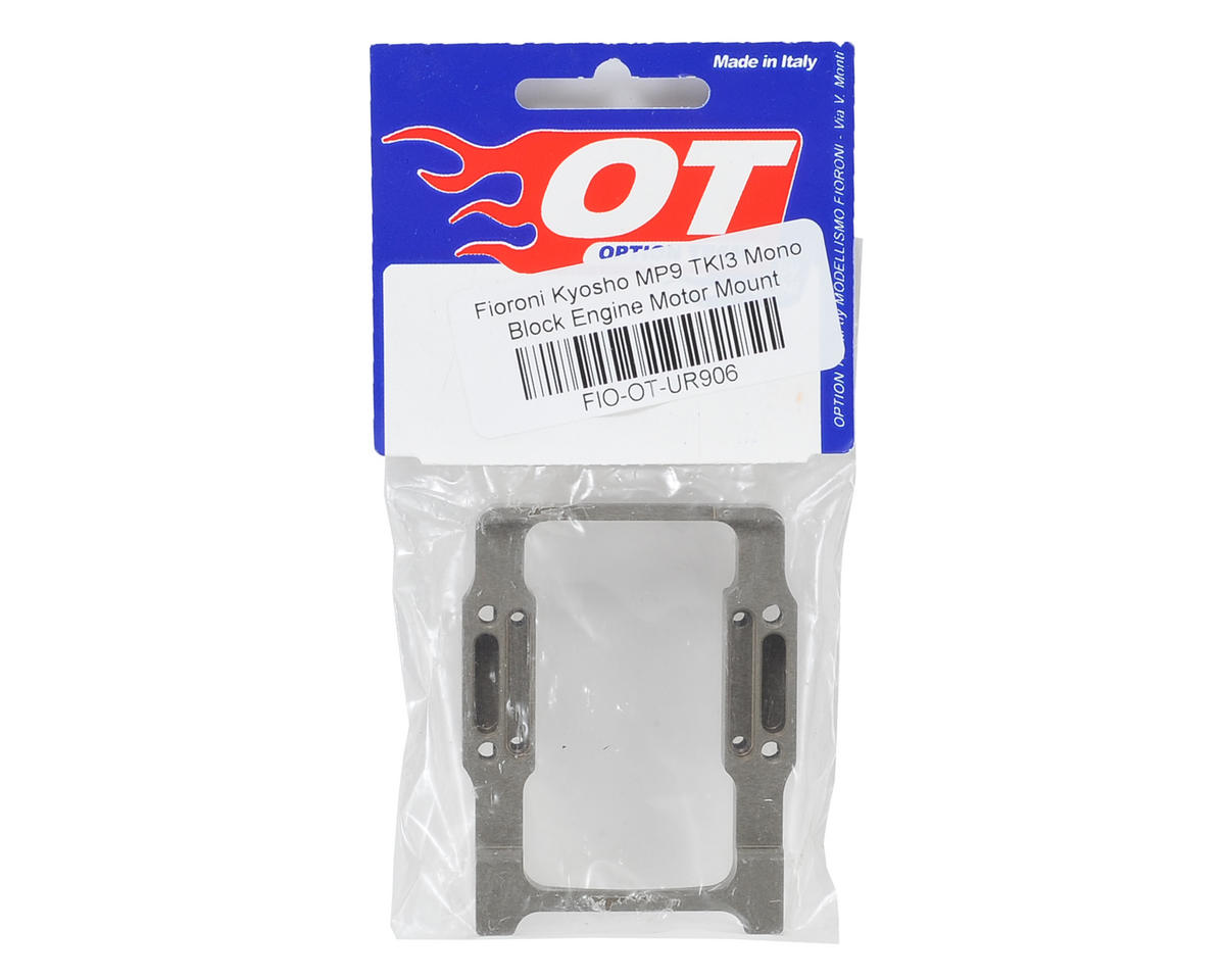 Fioroni Kyosho MP9 TKI4 Mono Block One-Peice Engine Mount