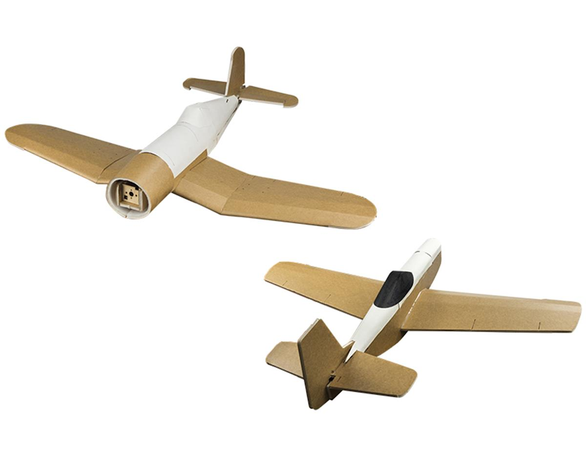 Flite Test Mini Warbird Electric Airplane Kit Combo Pack
