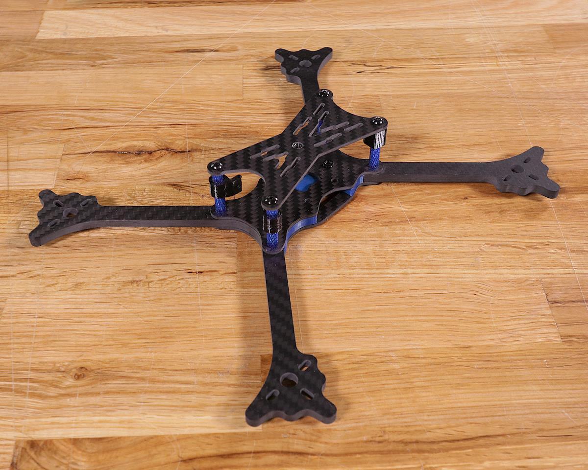 Flite Test Blur Drone Frame Kit (Blue)