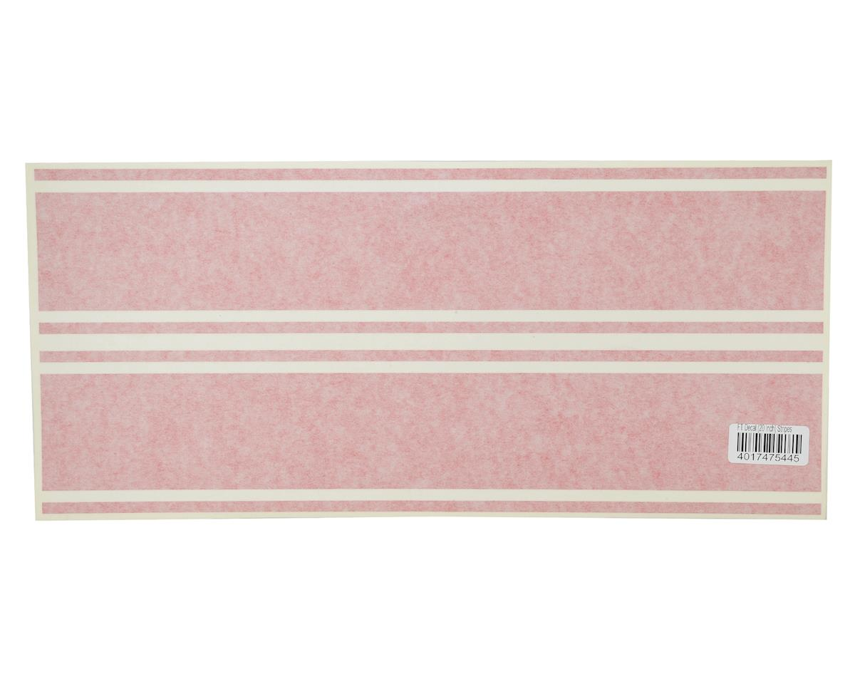 "Flite Test Kraken 20"" Decal Stripes (Red)"