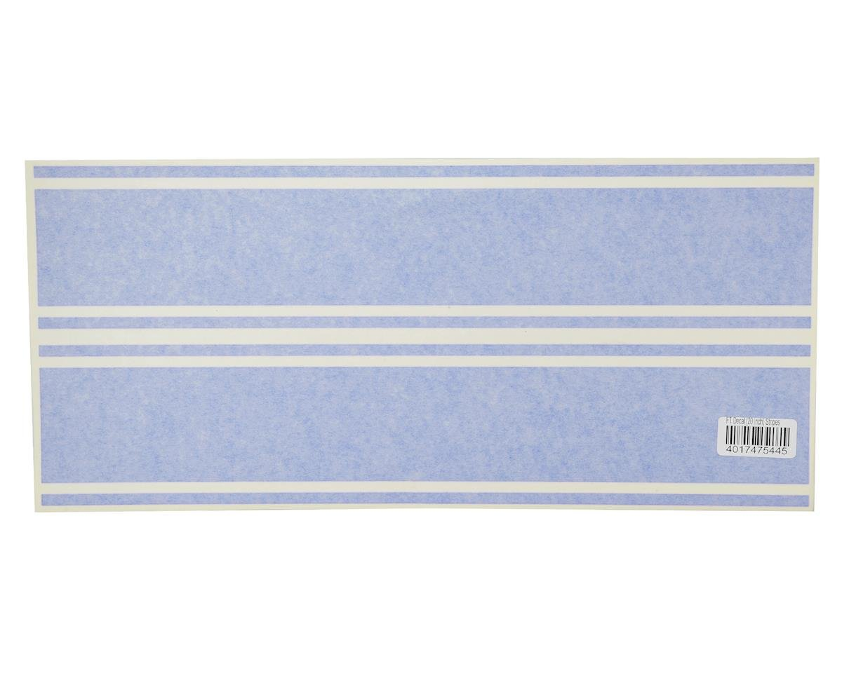 "Flite Test X-29 20"" Decal Stripes (Blue)"