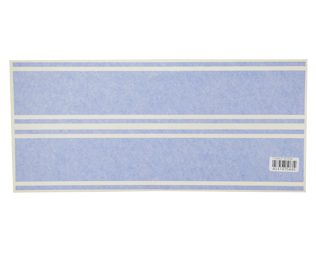 "20"" Decal Stripes (Blue) by Flite Test Mini Guinea"