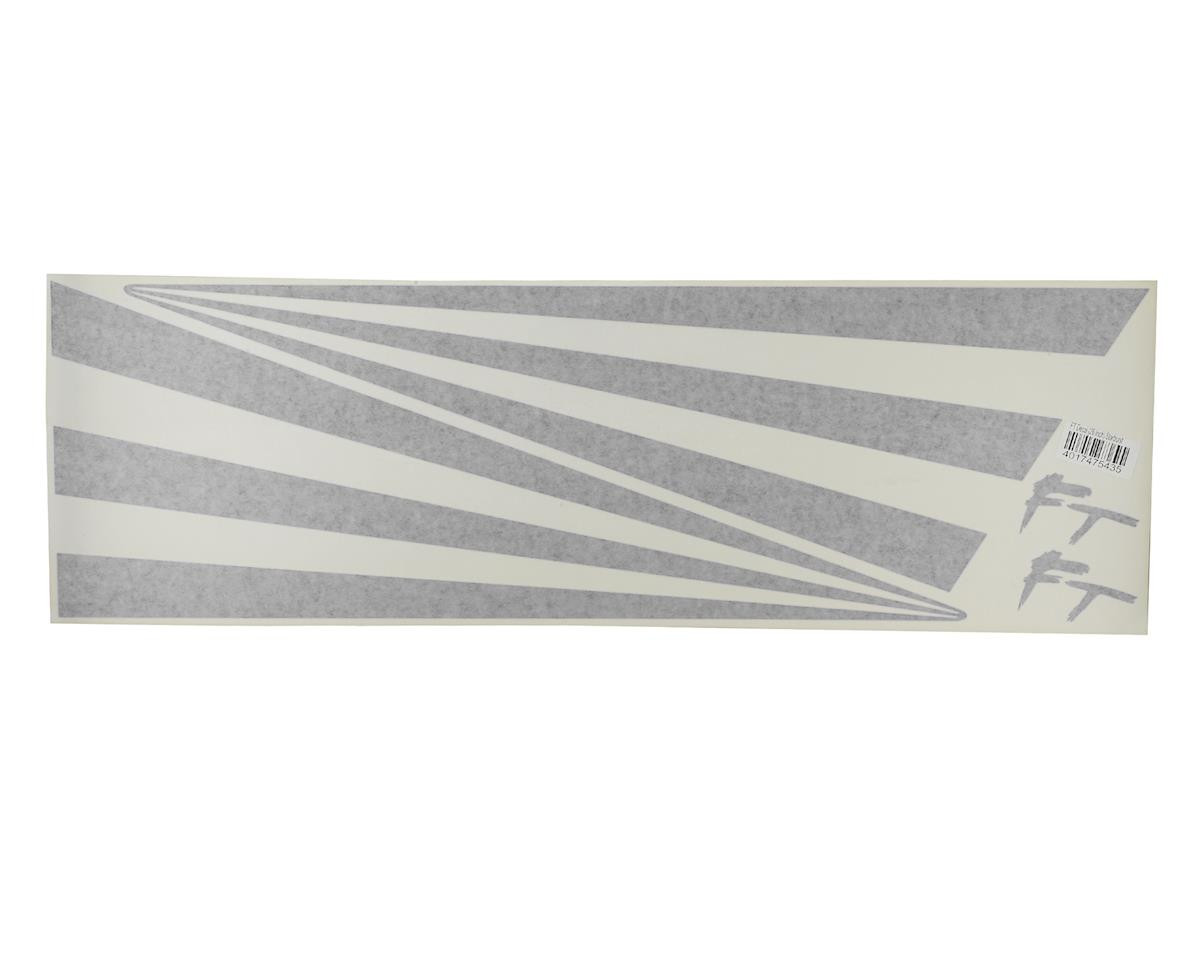 "Flite Test Kraken 26"" Decal Star-Bursts (Matte Black)"