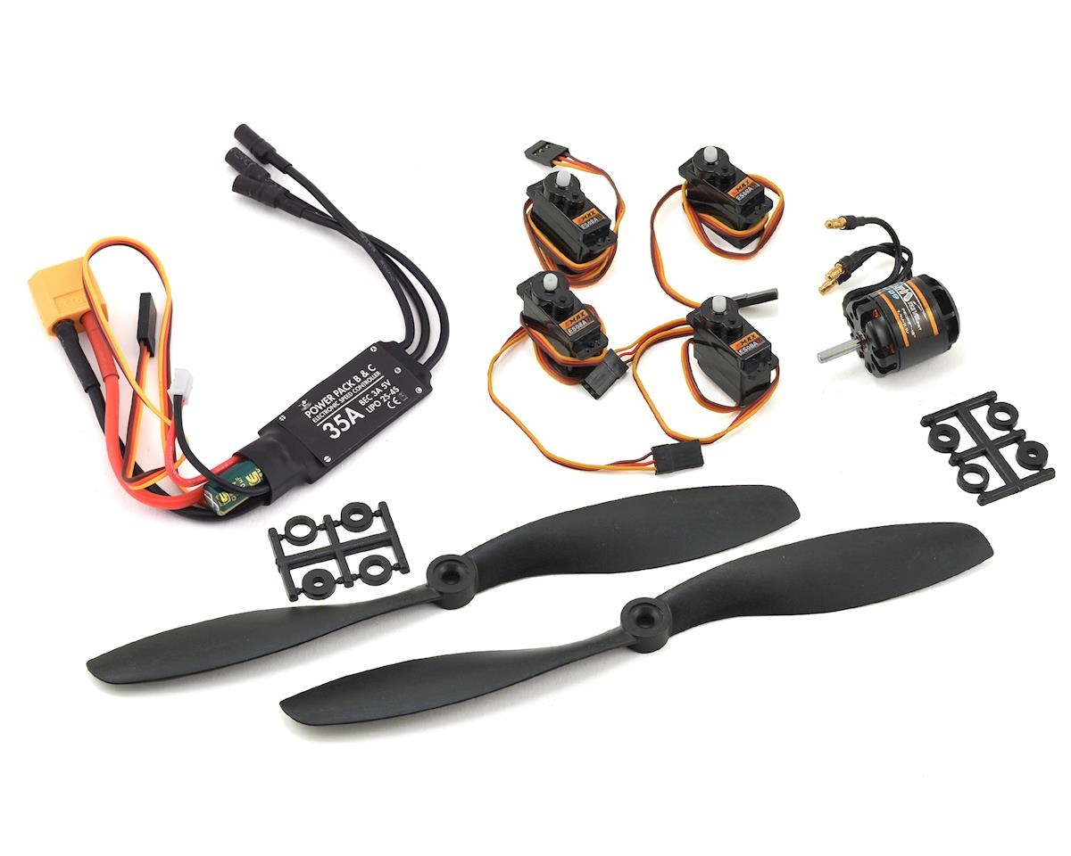 Flite Test FT-3D Power Pack C V2 (Fixed Wing Large)