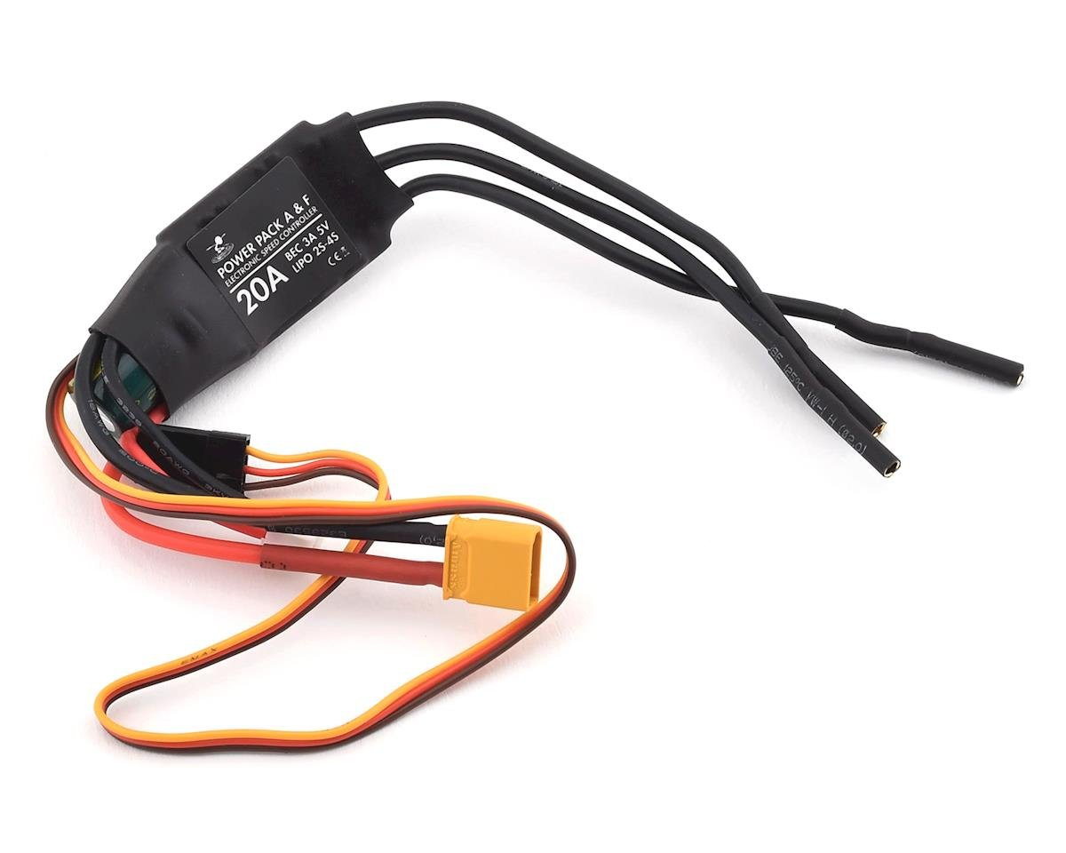 Flite Test Alpha Bravo Charlie FT 20A ESC w/XT-30 Connector
