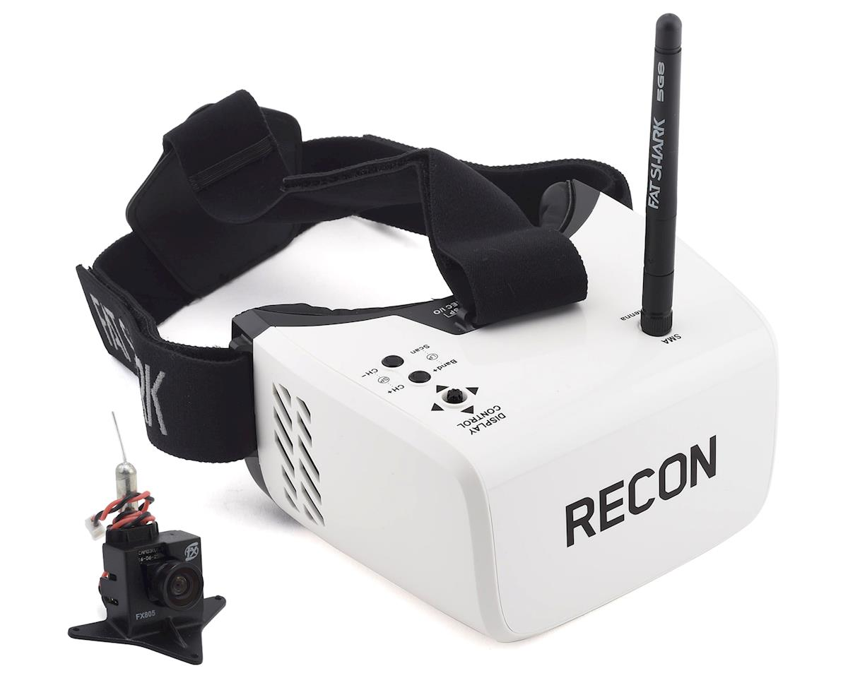 Flite Test Recon V2 5.8GHz FPV Goggles & FXT FPV Camera Bundle