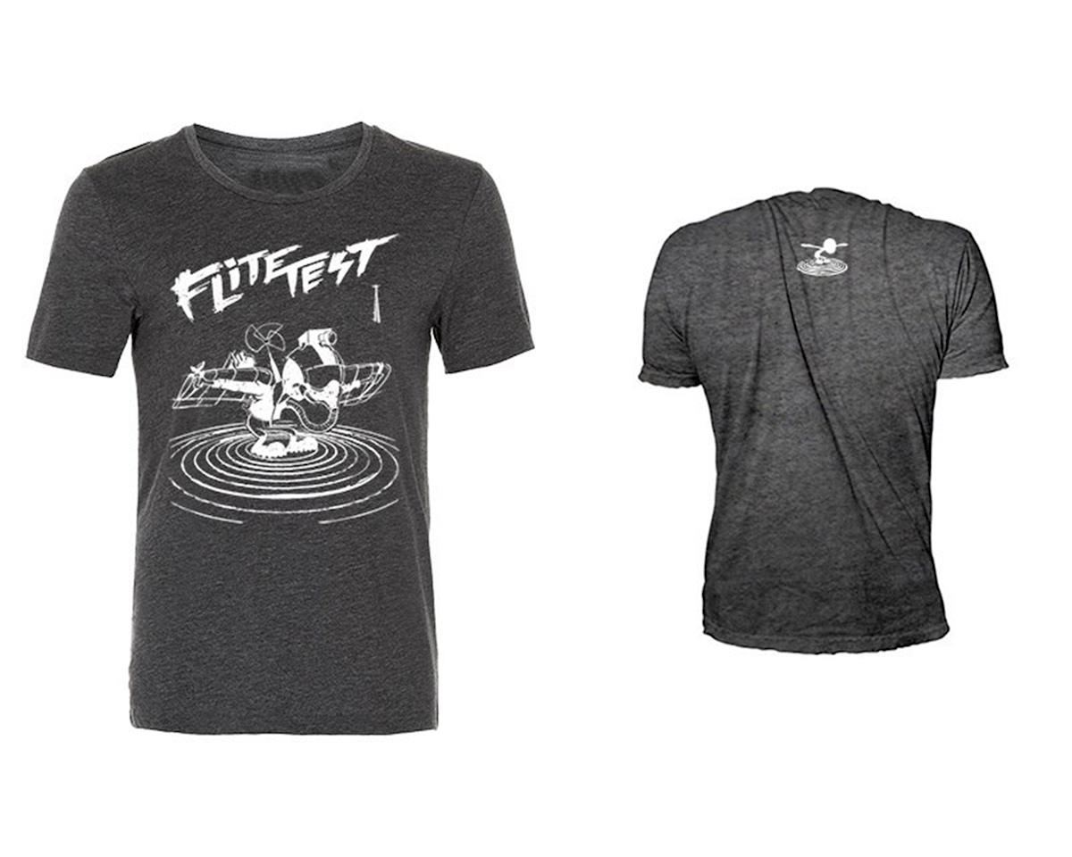 Flite Test Gremlin Illustration T-Shirt (Charcoal) (XL)