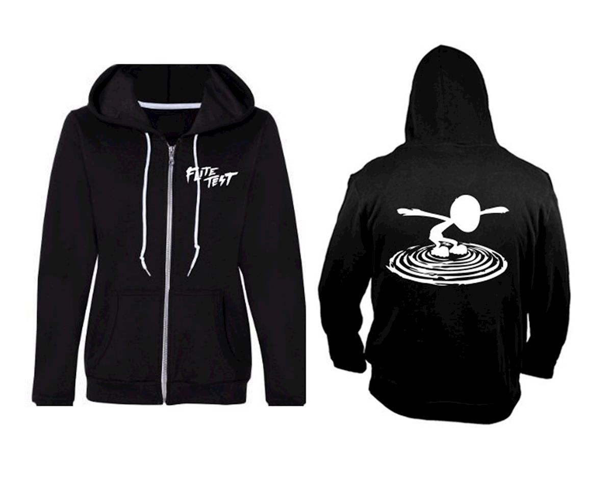 Flite Test FT Zip-Up Hoodie (Black) (L)