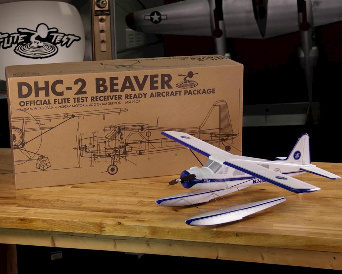 Flite Test FT Micro Beaver Electric PNP Airplane (640mm)
