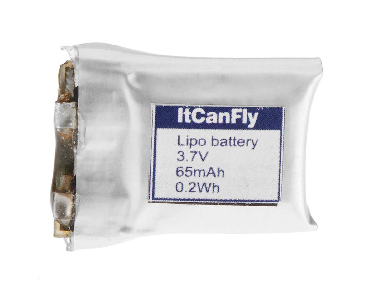 LiPo Battery 1S 3.7V 65mAh Magnetic ItCanFly Uberlite by Flyzone