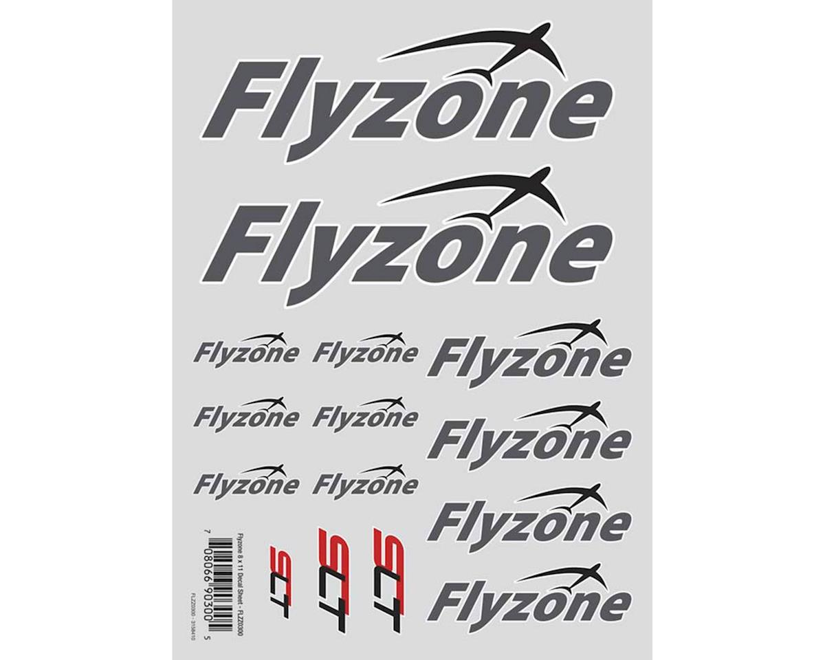 Flyzone Die Cut Decal Sheet 8x11""