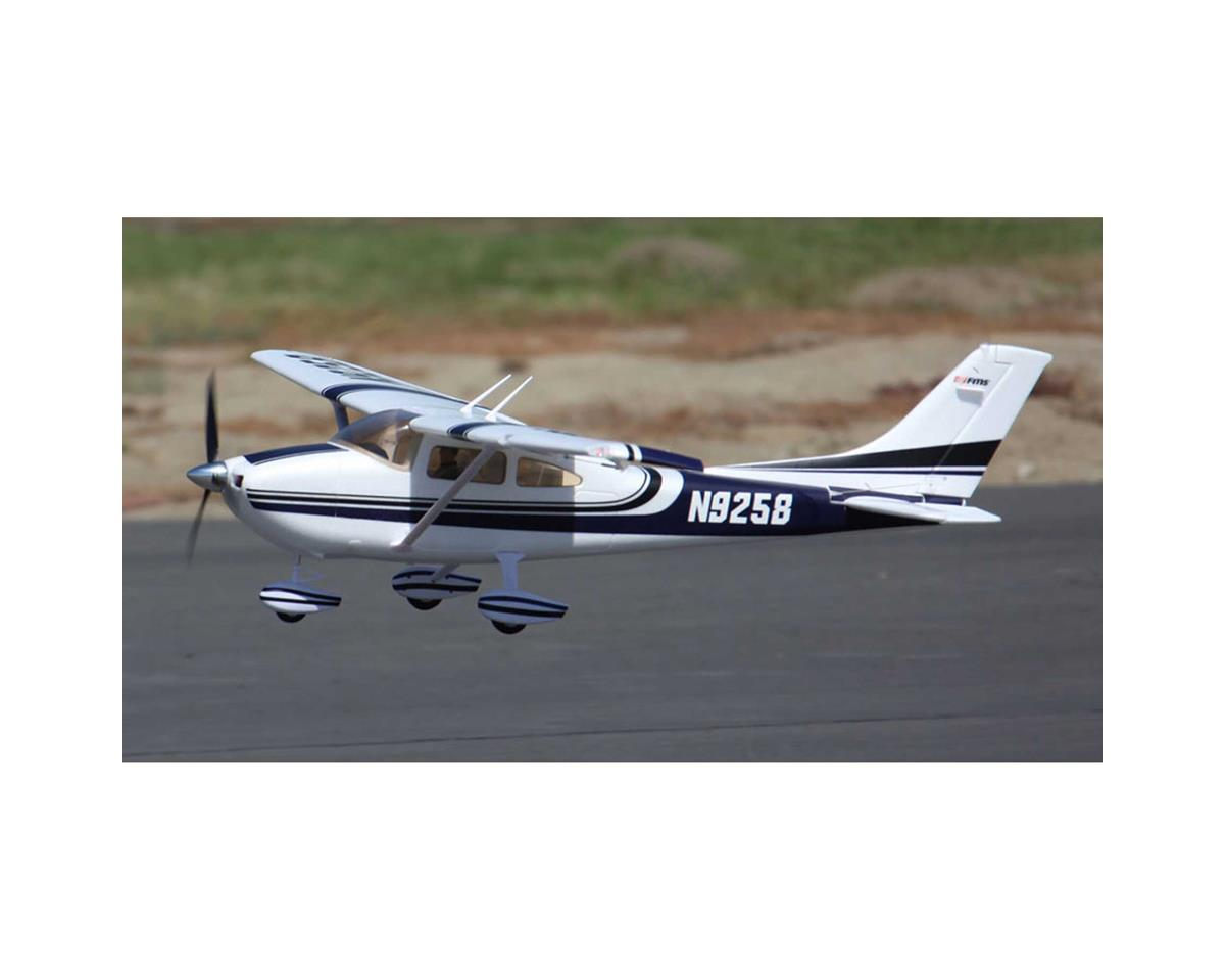FMS Sky Trainer 182 Plug-N-Play Electric Airplane (Blue) (1400mm)