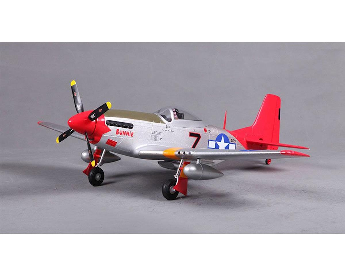 FMS P-51 Red Tail, PNP, 800mm