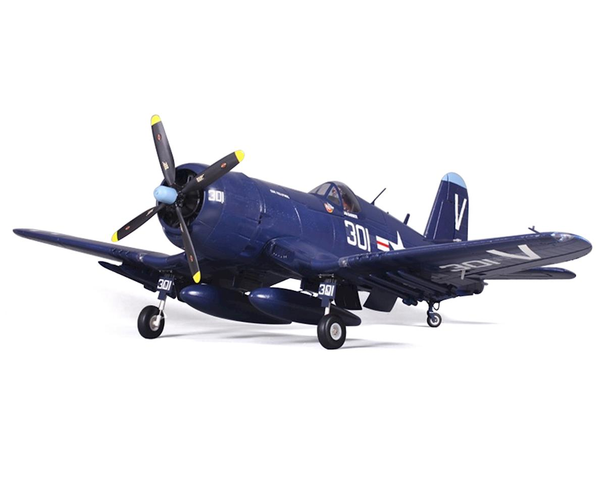 FMS F4U-4 Corsair Warbird Plug-N-Play Electric Airplane (1400mm) (Blue)