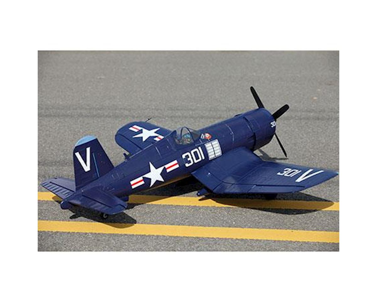 FMS F4U Corsair Plug-N-Play Electric Airplane (Blue) (1700mm)
