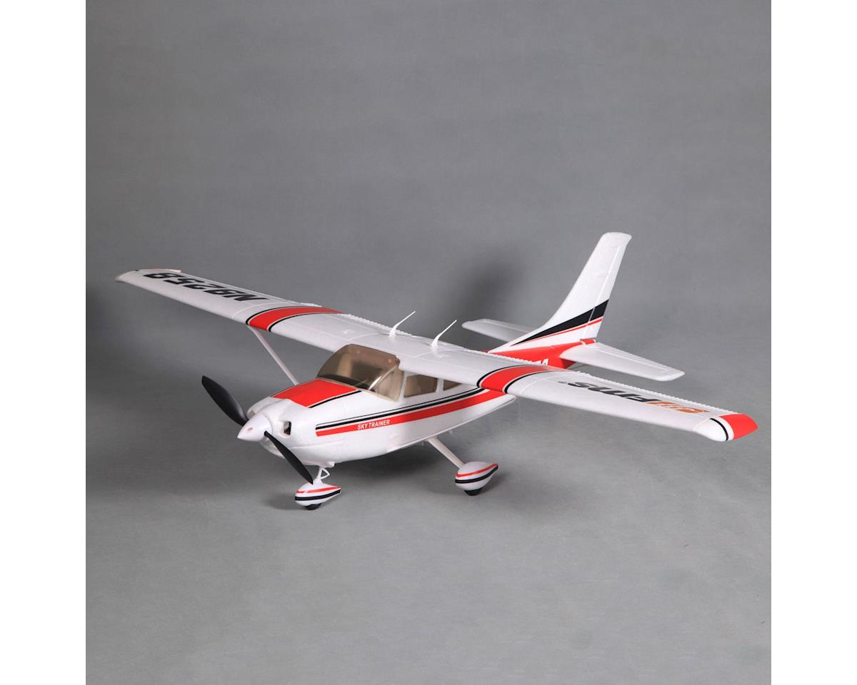 Cessna 182, Red, V2, RTF,1100mm by FMS
