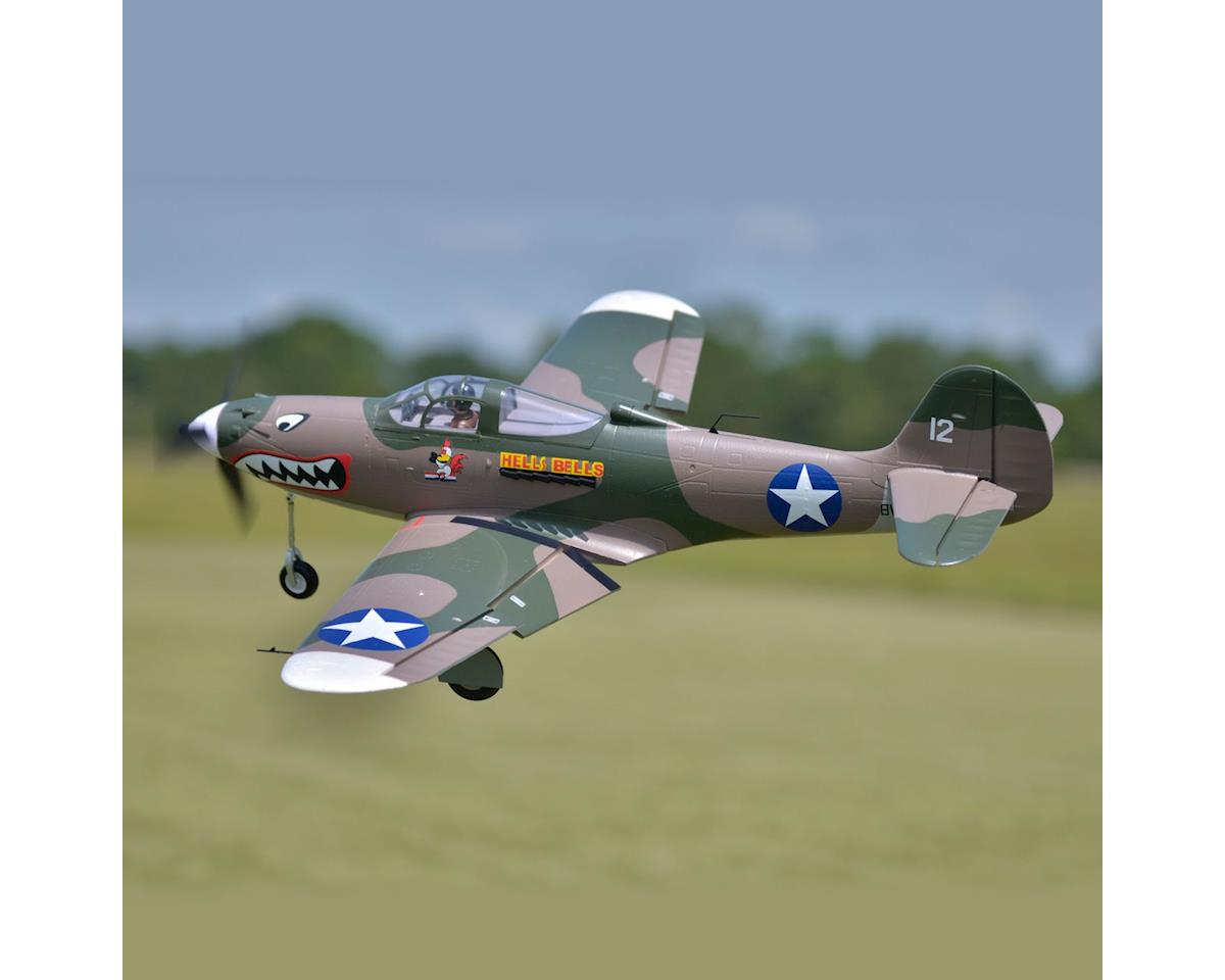 P-39,Hells Bells,Camo, PNP,980mm by FMS